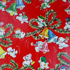 vintage wrapping paper c dianne zweig kitsch n stuff shopping for vintage christmas