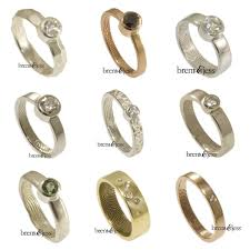non traditional wedding rings 10 non traditional engagement rings for 1k a practical
