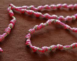 rosary twine cord rosary etsy