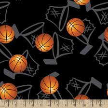 jo fabric and crafts basketball hoops print fabric eco canvas personalized fabric