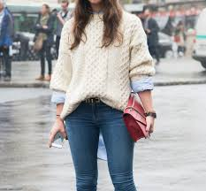 how to layer a sweater for fall instyle