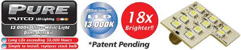 Putco Led Interior Lights Premium Led Dome Lights Application Specific By Putco