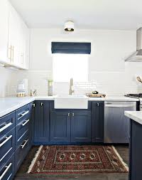 white kitchen cabinets with blue tiles the ultimate blue farmhouse kitchen collection the cottage