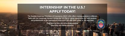 This Is The Swedish Version Sacc Usa Trainee Program