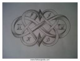 infinity tattoo designs with names 2