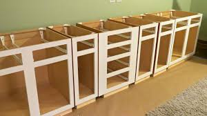 Kitchen Cabinet Construction Build Your Own Kitchen Cabinets Book Tehranway Decoration