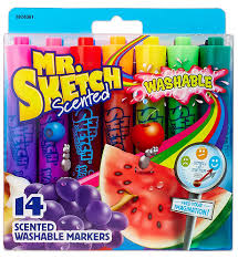 mr sketch scented markers assorted colors 12 pack