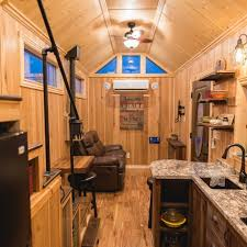 Tiny House Interiors Photos California Tiny House Designs And Builds A Rustic 28ft Home On