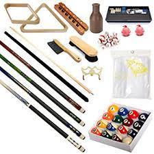 pool table accessories cheap amazon com pool table premium billiard 32 pieces accessory kit