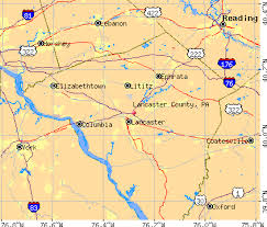map of lancaster pa lancaster county pennsylvania detailed profile houses