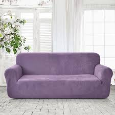 furniture linen settee purple loveseat living room with