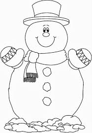 snowman free coloring pictures free winter coloring pages