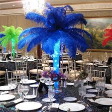 ostrich feathers wedding centerpieces gallery wedding decoration