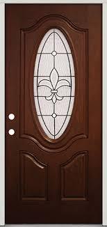 Fiberglass Exterior Doors For Sale Factory Finished Fiberglass Front Door With Fleur De Lis