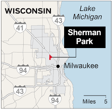 Chicago Shooting Map by Locations Of Events At The Milwaukee Protests Chicago Tribune