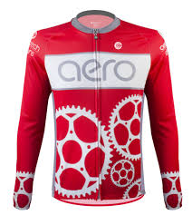 waterproof clothing for bike riding sprocket man cycling jersey with chainring design