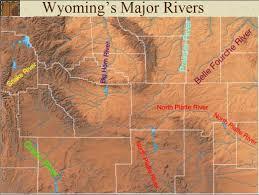 Wyoming rivers images Wyoming landmarks major wyoming rivers jpg