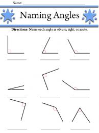 right angles worksheet worksheets