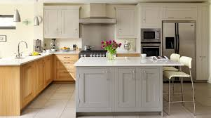 oak u0026 painted shaker kitchen from harvey jones