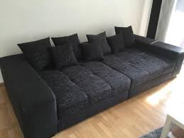 big sofa schwarz big sofa loop schwarz fast unbenutzt wiesbaden markt de 24656906