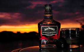 alcoholic drinks wallpaper download hd jack daniels bottle whiskey alcohol and glass in red