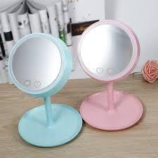 Makeup Mirror Light Popular Pink Cosmetic Mirror Led Buy Cheap Pink Cosmetic Mirror