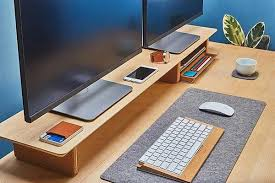Desk Organization Accessories Elevate Your Desk Organization With Grovemade S Desk Shelf System