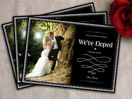 elopement announcements elope in st louis announcements for your elopement