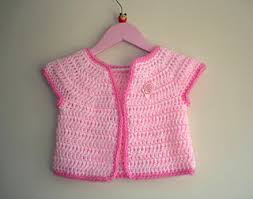 baby girl crochet ravelry rosebud baby girl crochet cardigan jacket pattern by