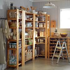 Building Wood Shelves In Pantry by Swedish Wood Shelving Wine Racks Williams Sonoma