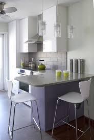 Small Breakfast Bar Table Kitchens Minimalist Kitchen With Dark Wooden Breakfast Bar Table