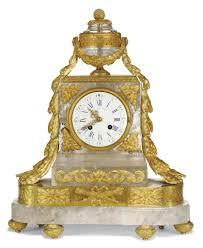Crystal Mantel Clocks A French Ormolu Mounted Rock Crystal Mantel Clock Maison