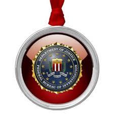 fbi emblem ceramic ornament zazzle
