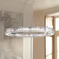 possini mulina 35 1 2 wide glass pendant light