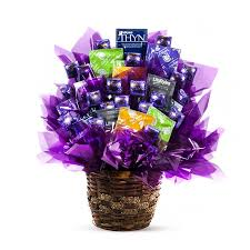 Candy Gift Basket Condom Gifts Basket Gift Basket With Condoms