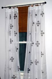 Design Your Own Curtains Diy Hand Stamped Curtains Nifty Thrifty