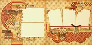 thanksgiving scrapbook paper paisleysandpolkadots september 2012