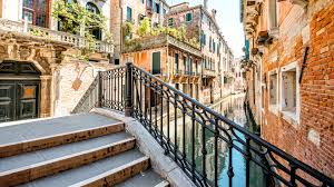 Italy Houses Images Venice Italy Canal Stairs Cities Houses 3840x2160