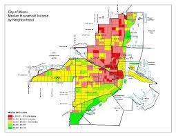 Wynwood Miami Map by Planning Demographics 2000