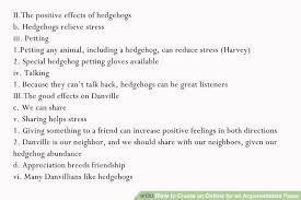 paragraph essay example