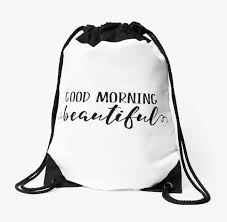 good morning beautiful gift for her bedroom decor romantic quote