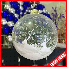 clear plastic christmas balls clear plastic christmas balls