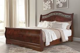 Sleigh Bed With Drawers Delianna King Sleigh Bed B223 76 78 97 Complete Beds I