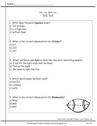Meaning Words Worksheets Wonders Second Grade Unit Two Week Four Printouts