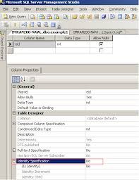 Sql Server Alter Table Change Column Name Sql Server Add Or Remove Identity Property On Column Sql
