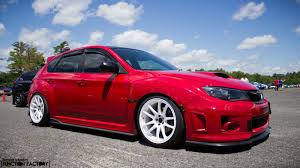 slammed subaru wrx clean wrx done right function factory