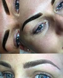eyebrow feather tattoo uk ombre powder vs hair stroke permanent make up glasgow million
