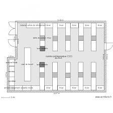 cuisine p馘agogique projet cuisine pédagogique assp valadon plan 1 pièce 95 m2 dessiné