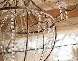 French Wire Chandelier Chandelier Etsy