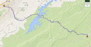 Blue Ridge Mountains Map Riding The Usa Blue Ridge Parkway